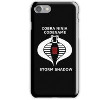 storm shadow iPhone Case/Skin