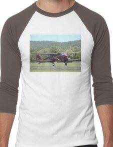 """Riama"" takes off @ Evans Head Airshow 2010 Men's Baseball ¾ T-Shirt"