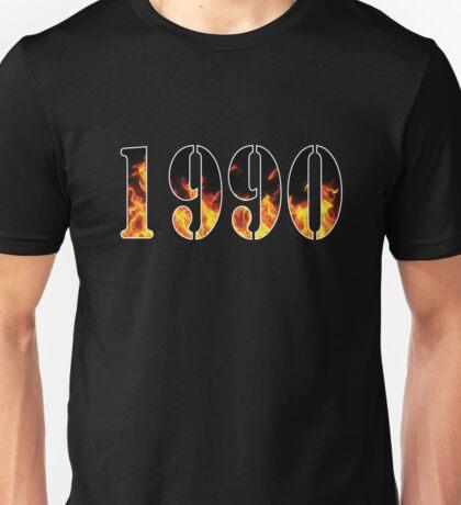 1990 Fire Unisex T-Shirt