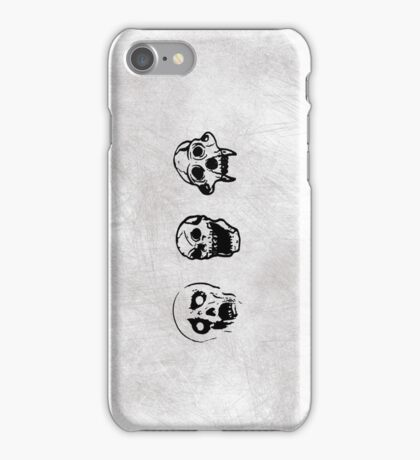 Oh The Horror! - Skull Set iPhone Case/Skin