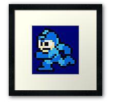 Megaman Sprite Framed Print