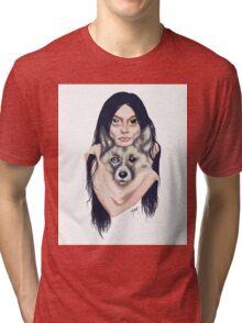 Wolf Mama Tri-blend T-Shirt