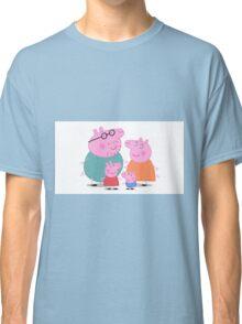 Peppa Pig Family Portrait  Classic T-Shirt