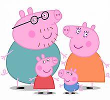 Peppa Pig Family Portrait  by jaffrywardjr