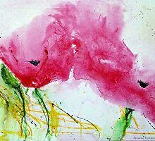 Poppies 2 by Ismeta Gruenwald