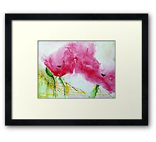 Poppies 2 Framed Print