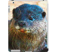 Cute Little Otter Face iPad Case/Skin