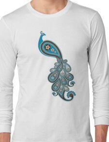 Paisley Peacock 1 Long Sleeve T-Shirt