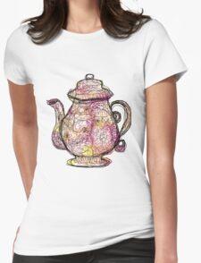 Watercolored Teapot T-Shirt