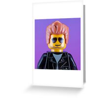 George Michael Portrait Greeting Card