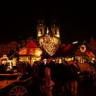 Prague Christmas Market - Old Town by lallymac