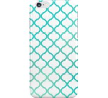 Green Moroccan luxury antique pattern iPhone Case/Skin
