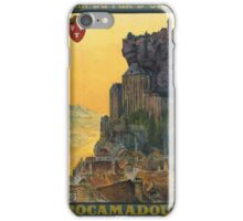 Vintage poster - France iPhone Case/Skin