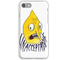 "Lemongrab ""Unacceptable"" 