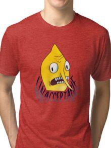 "Lemongrab ""Unacceptable"" || ScarlettDesigns Tri-blend T-Shirt"
