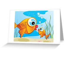 Critterz - Fish - Olive & Pickles Greeting Card