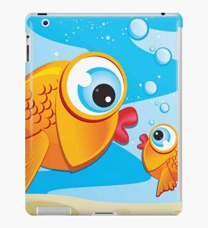 Critterz - Fish - Olive & Pickles iPad Case/Skin