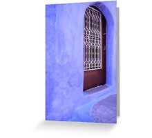 Greek Blues Greeting Card