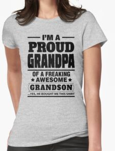 I'm A Proud Grandpa Of A Freaking Awesome Grandson T-Shirt