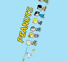 Peanuts - The Gang by Hasth