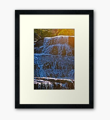 Coloured Waters Framed Print