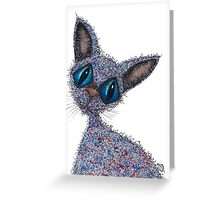 MISS CATTY Greeting Card
