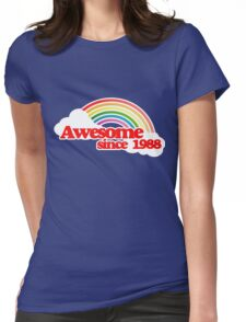 Awesome since 1988 Womens Fitted T-Shirt