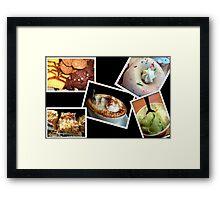 My Diet © Framed Print