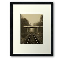 Take a look, Take a good long look and tell me what you see..Through time passing...Time after time...We stand and watch it fade away Framed Print