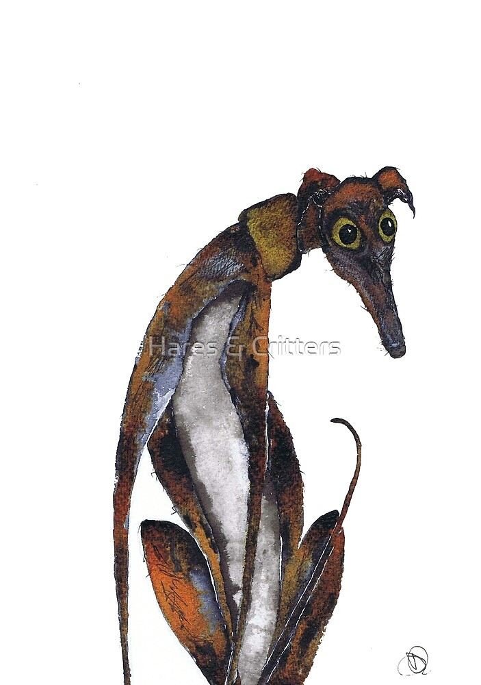 GREYHOUND by Hares & Critters