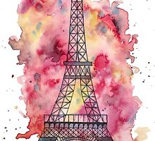 The Eiffel Tower by katherinedownie