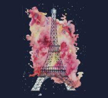 The Eiffel Tower Baby Tee