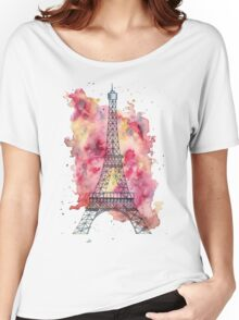 The Eiffel Tower Women's Relaxed Fit T-Shirt