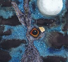 STARRY NIGHT  by Hares and Critters