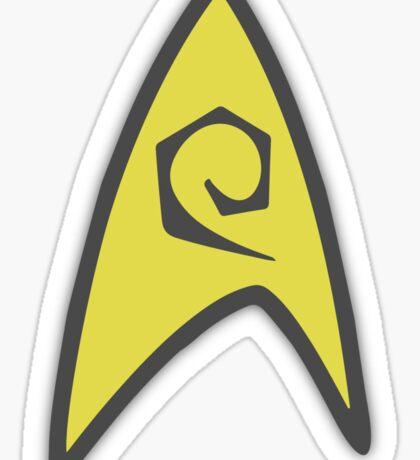 Starfleet insignia - Engineer Sticker