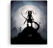 Skyrim Kid Canvas Print