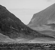 Camasunary, Sgurr na Stri and Ruadh Stac by Christopher Cullen