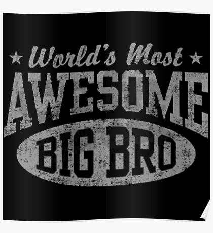 World's Most Awesome Big Brother Poster