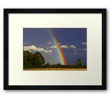 Rainbow Magic, September 2012, North England ( 3 features) Framed Print