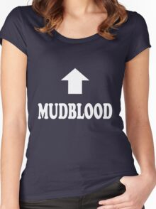 Mudblood Women's Fitted Scoop T-Shirt