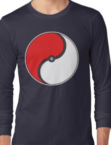 Poke-Ying-Yang Long Sleeve T-Shirt