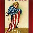 Celebrate 1776 Greeting Card by Yesteryears