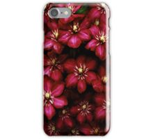 clematis-power iPhone Case/Skin