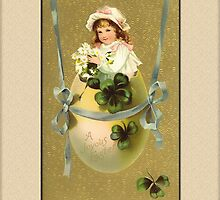 Joyous Easter Greetings by Yesteryears
