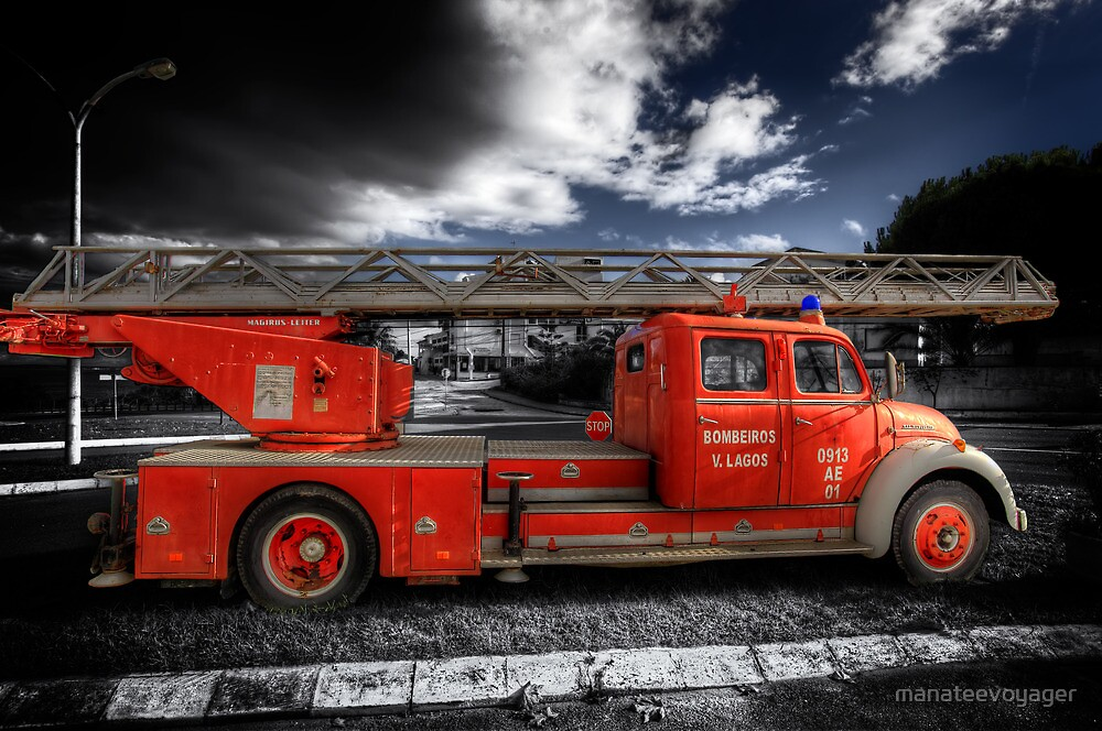 Magirus Leiter Fire Truck by manateevoyager