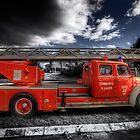 Magirus Leiter Fire Truck by manateevoyager