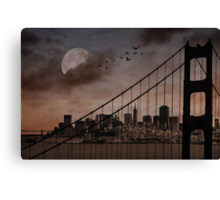 San Francisco (musical link in description) Canvas Print
