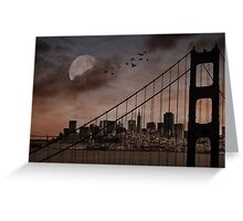 San Francisco (musical link in description) Greeting Card
