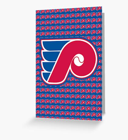 Phillies / Flyers Greeting Card