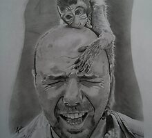 Karl Pilkington(an idiot abroad) by lee gordon
